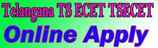Telangana ECET Apply Online 2017 Online Application