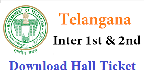 BIE Telangana Inter 1st and 2nd Year Hall Tickets 2017