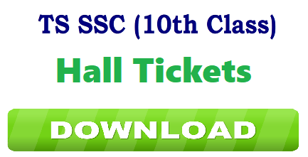 BSE Telangana 10th Class Duplicate Hall Ticket 2019