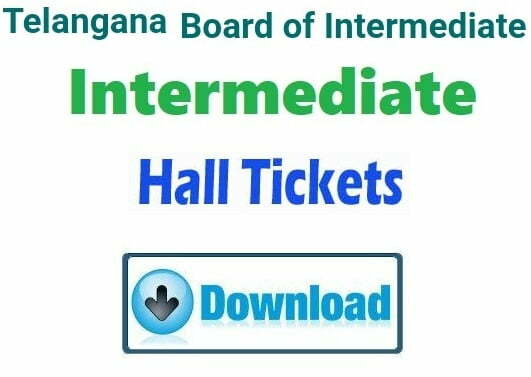 TS Inter 1st Hall Ticket 2019