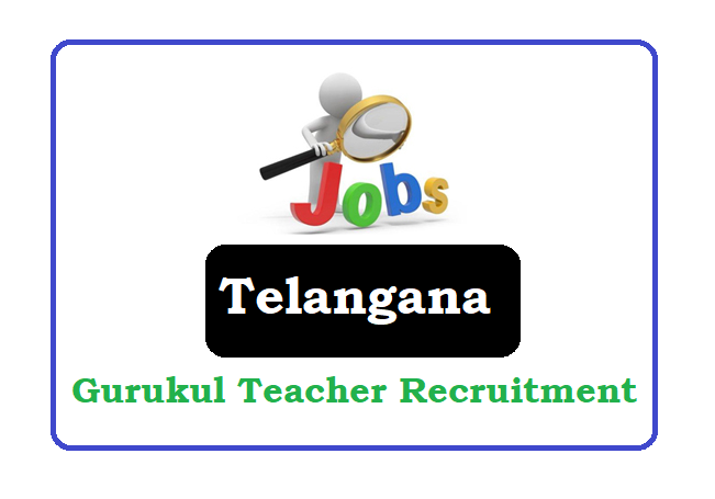 TSPSC Gurukulam Teacher Recruitment 2019, TSPSC Gurukulam Teacher Notification 2019