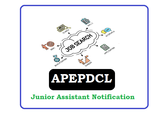 APEPDCL Junior Assistant (JA) Recruitment 2020, APEPDCL Junior Assistant (JA) Notification 2020