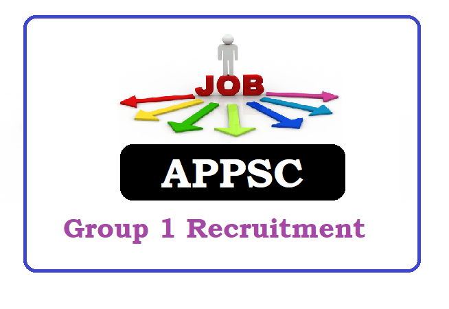 APPSC Group 1 Recruitment 2020 Apply Online, APPSC Group 1 Notification 2020 Apply Online