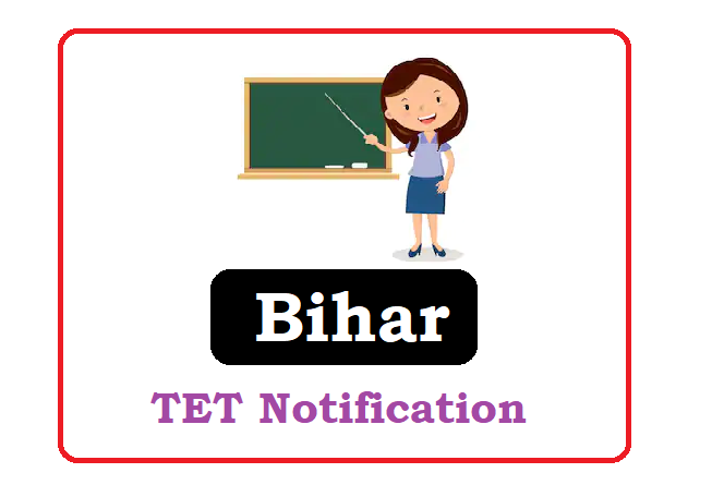 Bihar TET Notification 2020