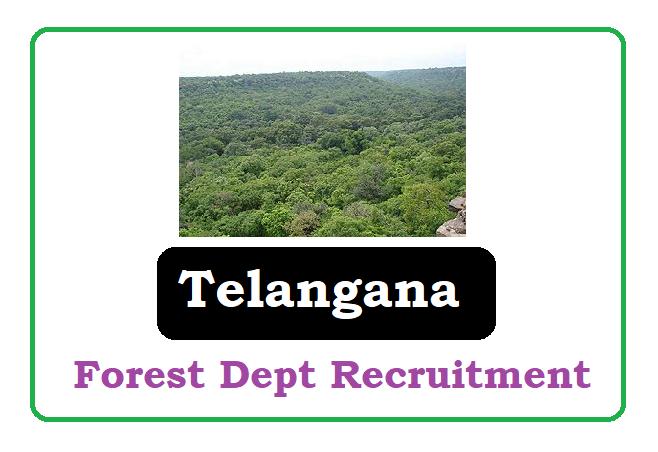 TSPSC Forest Department Recruitment 2020, TSPSC Forest Department Notification 2020
