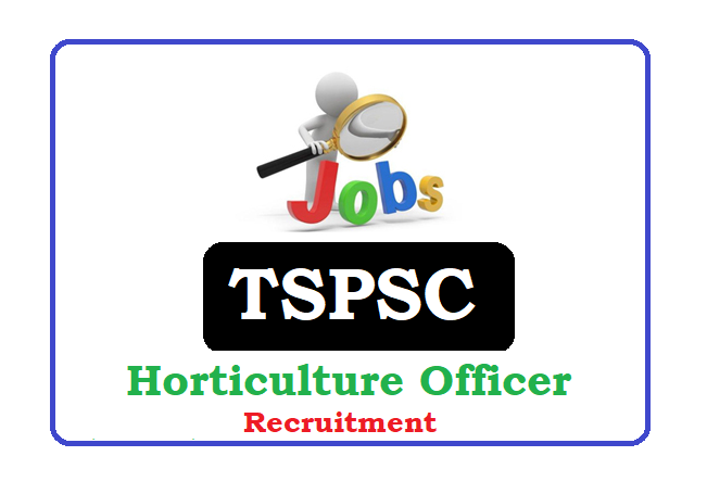 Telangana Horticulture Officer (HO) Recruitment 2020, TS Horticulture Officer (HO) Notification 2020