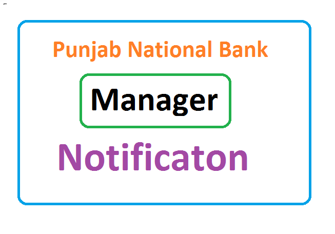 PNB Manager Recruitment 2020, PNB Manager Notification 2020