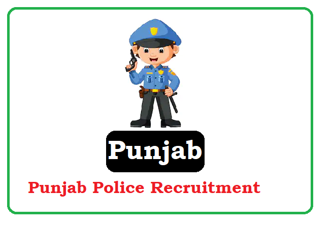 Punjab Police Recruitment 2020 Punjab Police Notification 2020 Apply Online