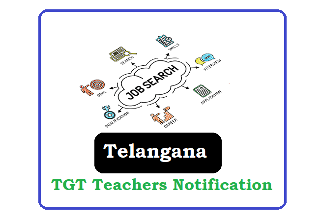 TSPSC TGT Teachers Recruitment 2020, TSPSC TGT Teachers Notification 2020
