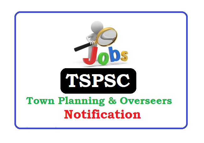 TS Town Planning & Building Overseers Notification 2019, TS Town Planning & Building Overseers Recruitment 2019