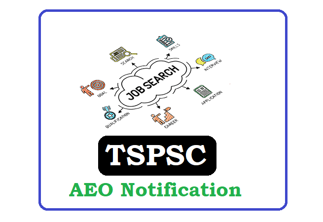 TSPSC AEO Grade-II Recruitment 2020, TSPSC AEO Grade-II Notification 2020
