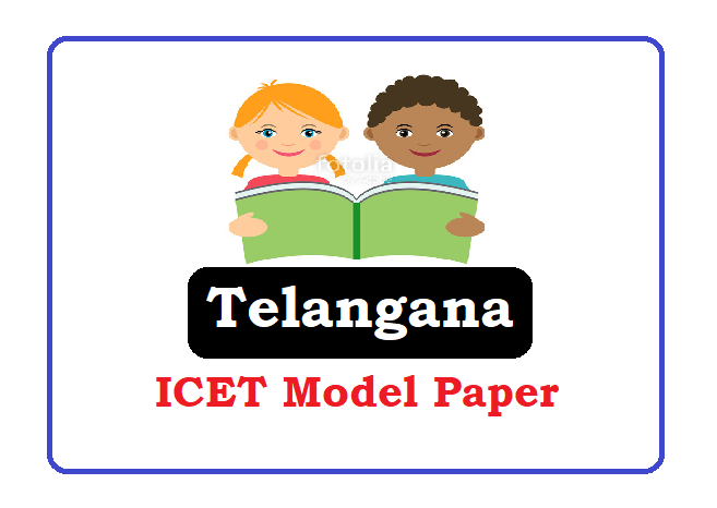 Telangana ICET Model Paper 2020, TS ICET Question Paper 2020