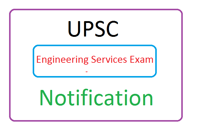 UPSC Engineering Services Exam (ESE) Notification 2019, UPSC Engineering Services Exam (ESE) Recruitment 2019